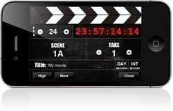 DSLR Video making app with slate