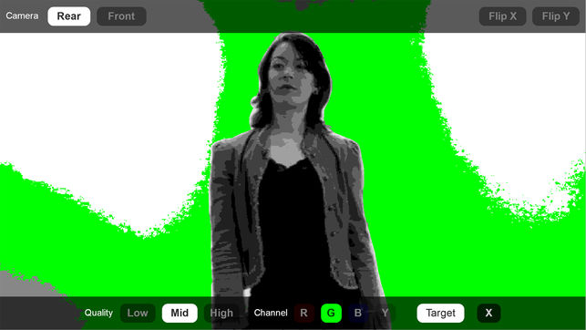 Green Screener for creating perfect green screen