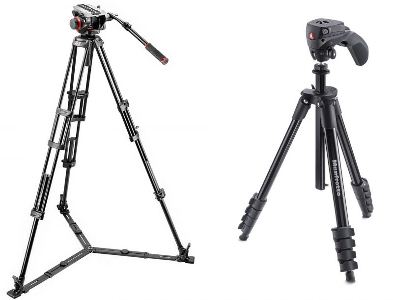 Video or stills tripod?